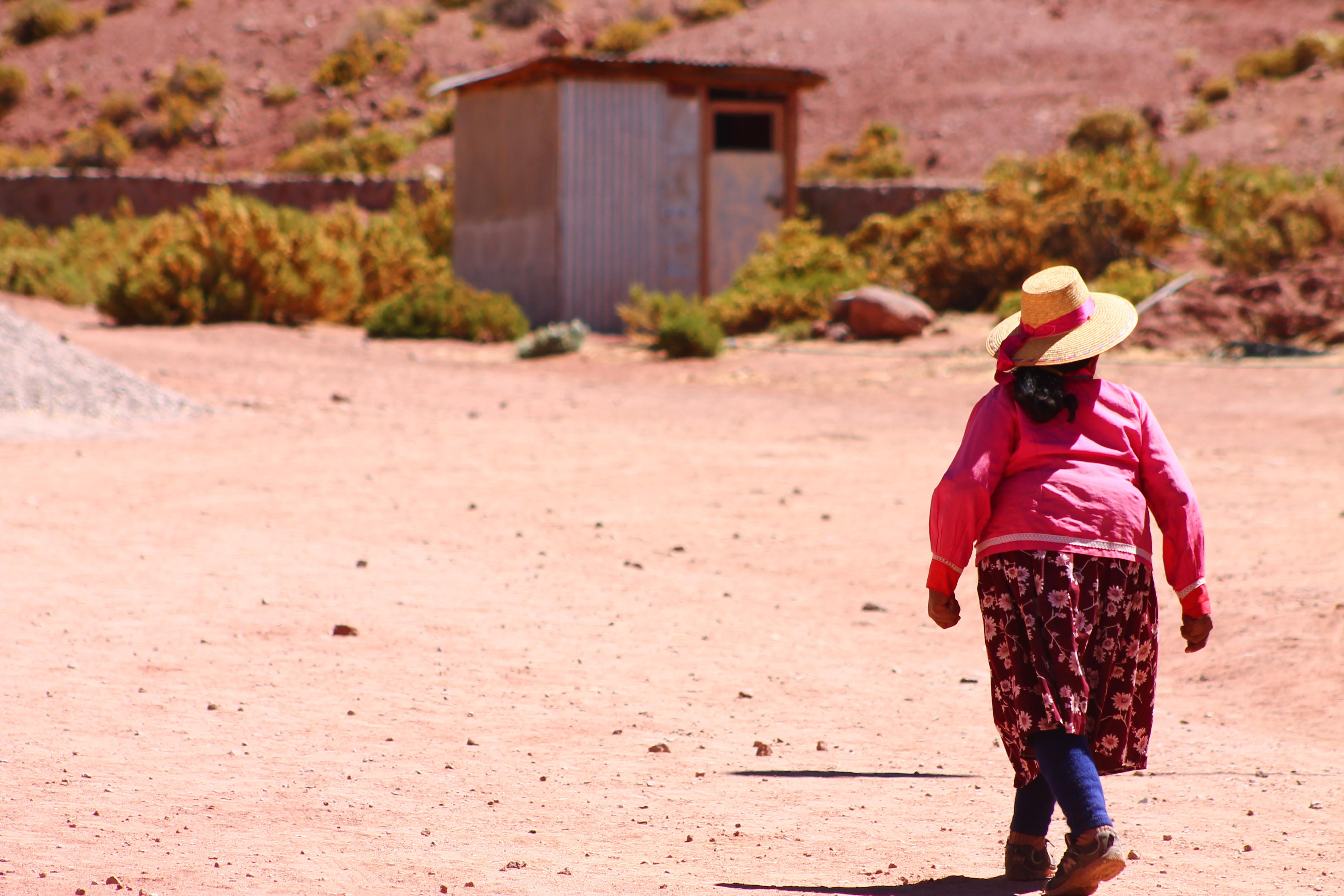 Comunitat atacamenya, Chile.